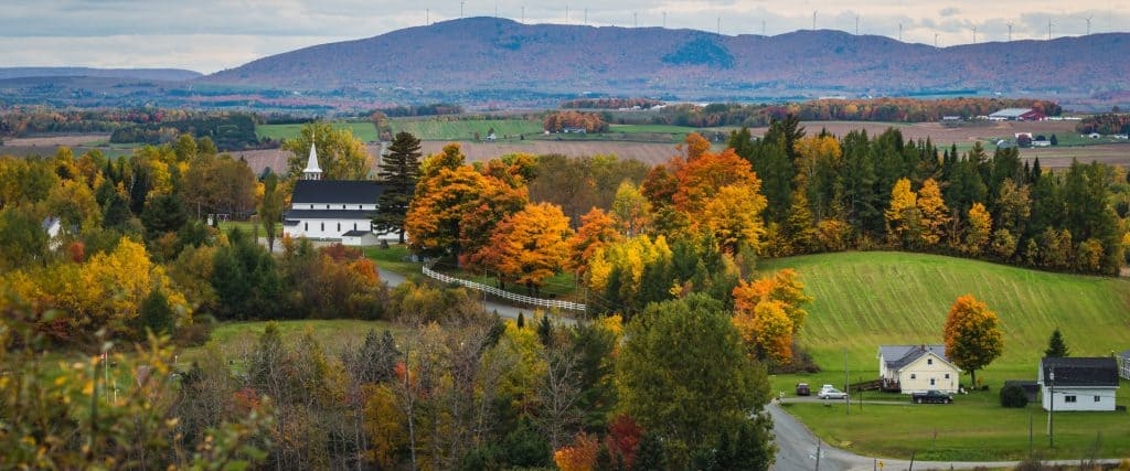 Photo of New Brunswick Countryside