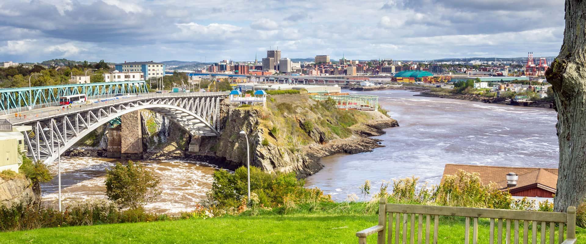 Photo of Reversing Falls in Saint John, New Brunswick
