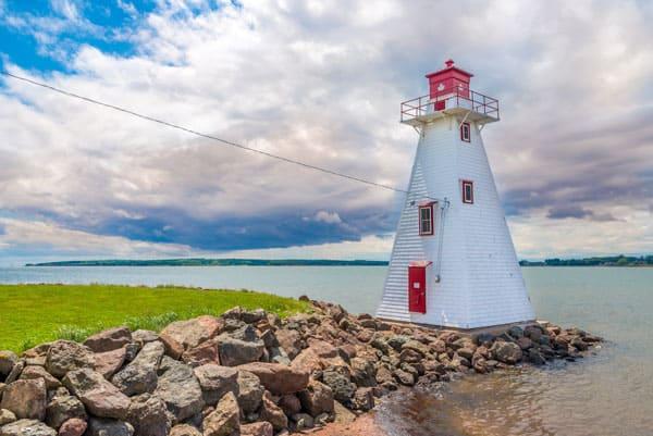 Photo of lighthouse in Prince Edward Island