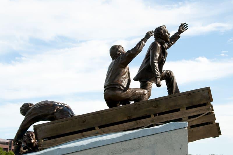 Photo of Merchant Marine Monument in Sydney Nova Scotia