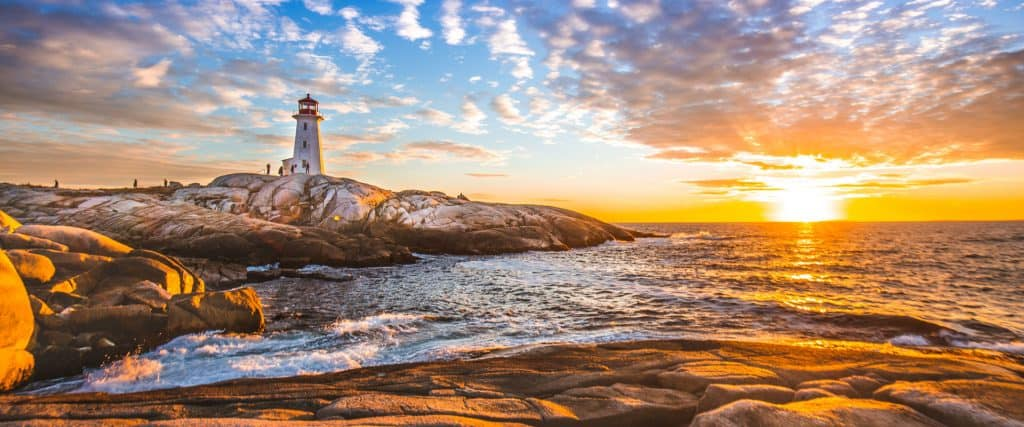 Photo of Peggy's Cove in Nova Scotia