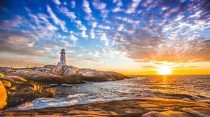 Photo of Peggy's Cove in Nova Scotia
