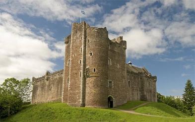 """Doune Castle, a.k.a. """"Castle Leoch"""""""