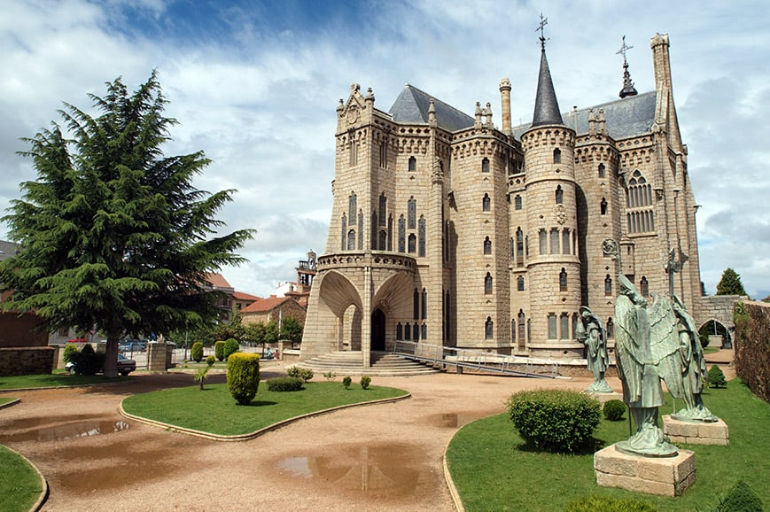 The Episcopal Palace of Astorga