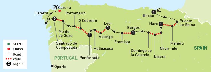 sesca-walking-the-camino-de-santiago-map