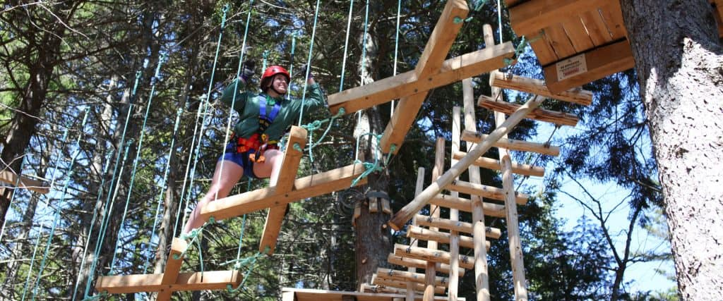 Timbertop Obstacle and Zipline Adventure