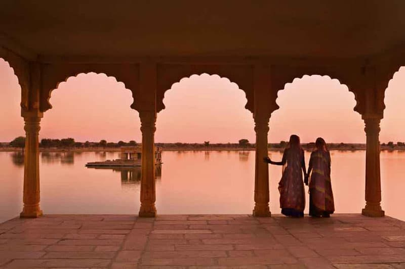 India at Sunset