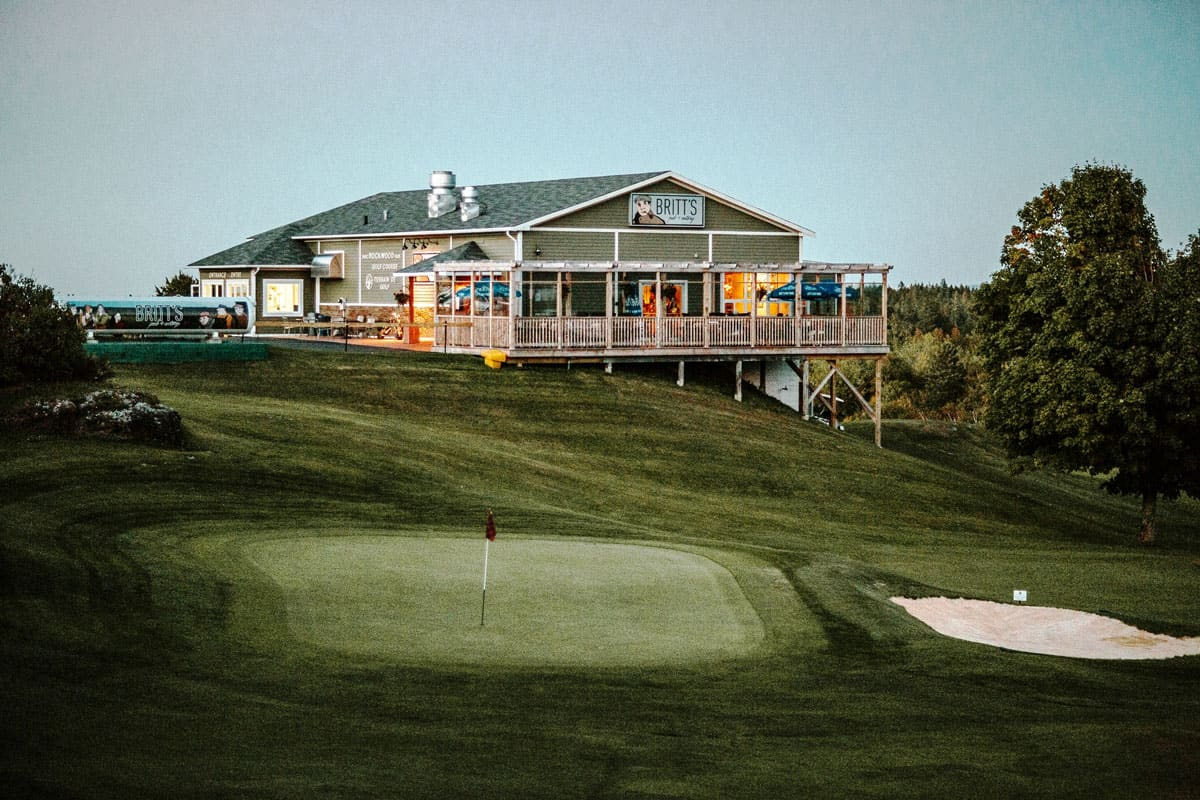 Photo of Rockwood Park Golf Course and Britts Restaurant